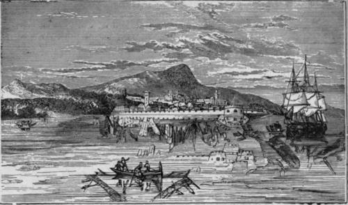 Fata Morgana v Mesinski ožini na sliki iz leta 1844, spletni vir, 2016